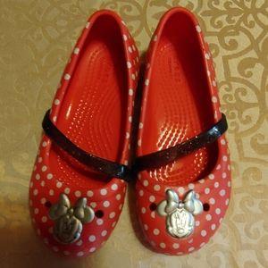 Mickey Mouse Crocs size 11